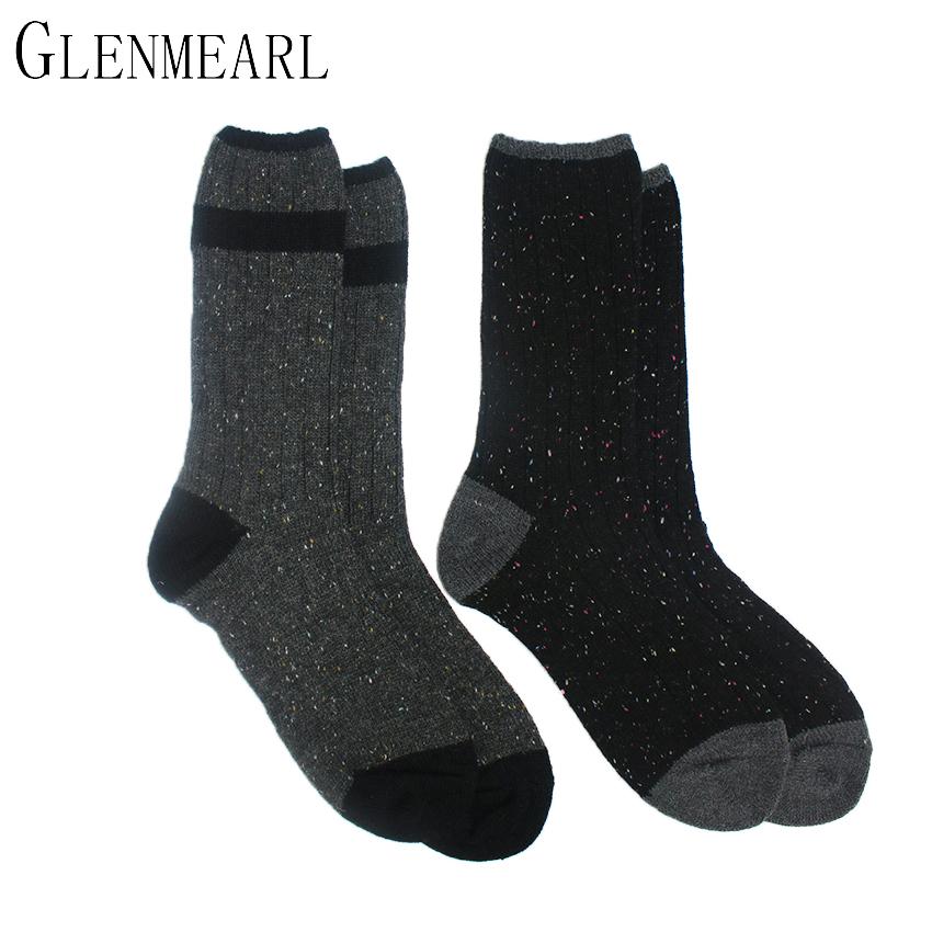 [해외]메리노 울 여성 양말 패션 컬러 포인트 품질 브랜드 양말 압축 Coolmax 겨울 두꺼운 X65 따뜻한 숙녀 부팅 양말/Merino Wool Women Socks Fashion Color Point Quality Brand Hosiery Compression C
