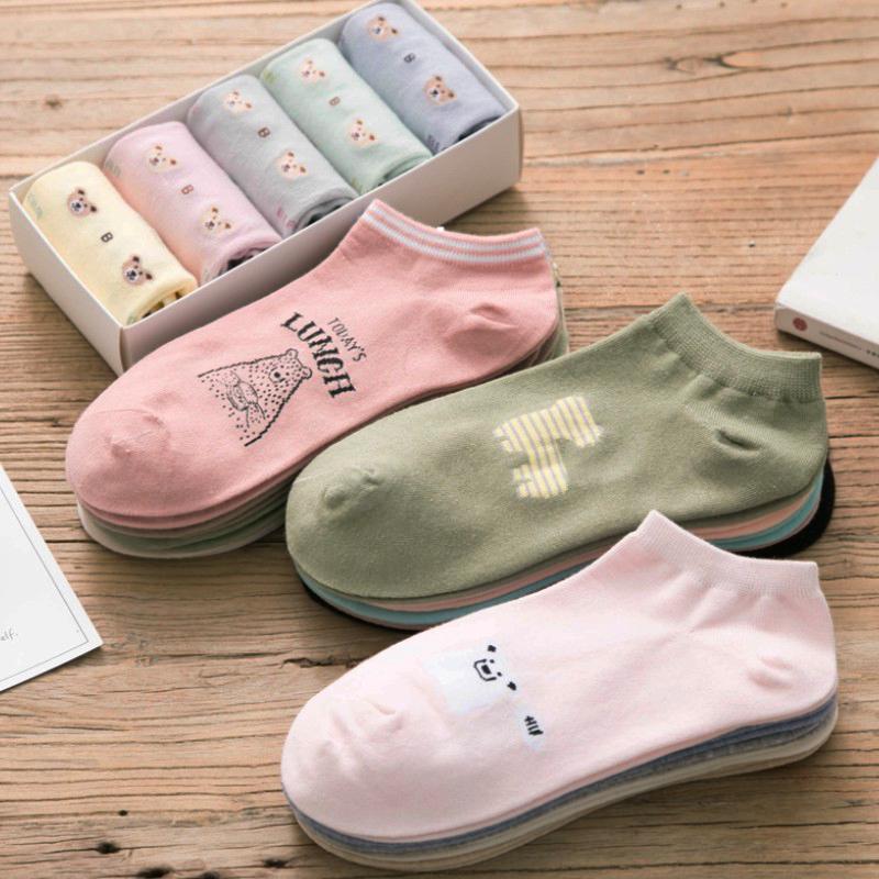 [해외]양말 여성 짧은 A50 면화 여름 가을 겨울 양말/Socks women short A50 cotton summer autumn cotton socks