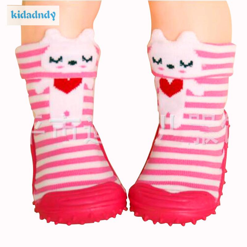 [해외]키다 댄디 베이비 양말 부드러운 바닥 베이비 양말 고무 밑창 신생아 베이비 유아 신발 1917ydHJS/KiDaDndy Baby Socks Soft Bottom Baby SocksRubber Soles Newborn Baby Toddler Shoes  1917y