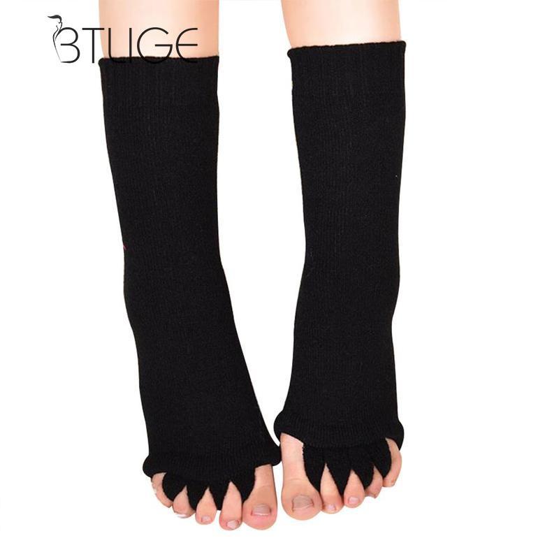 [해외]BTLIGE 발가락 양말 발목 양말 페디큐어 발가락 분리기 피트 배려 분리기 손가락 마사지 Bunion 발가락 분리기 발 뒤꿈치/BTLIGE Toe Socks Pedicure Socks For Pedicure Toe Separators Feet Care Sepa