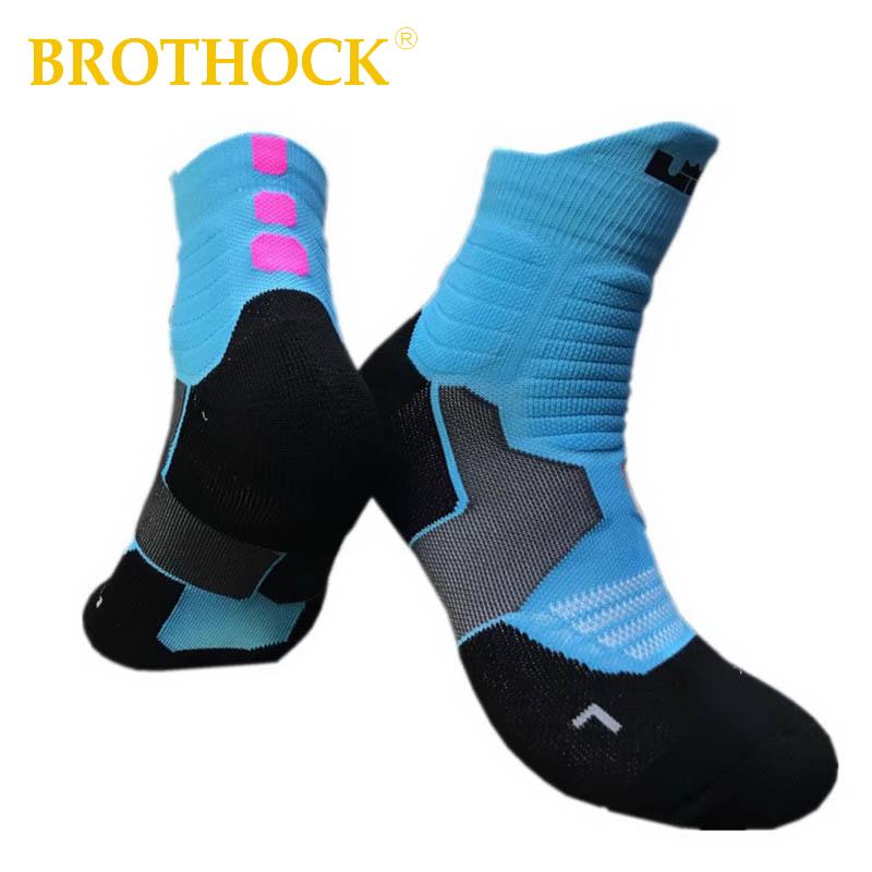 [해외]Brothock LBJ 엘리트 양말 전문 2 세대 농구 양말 브라 이언트 타올 보텀 두꺼운 캐논 스포츠 양말 남성 & 양말/Brothock LBJ Elite Socks Professional 2 Generation Basketball Socks Bryan