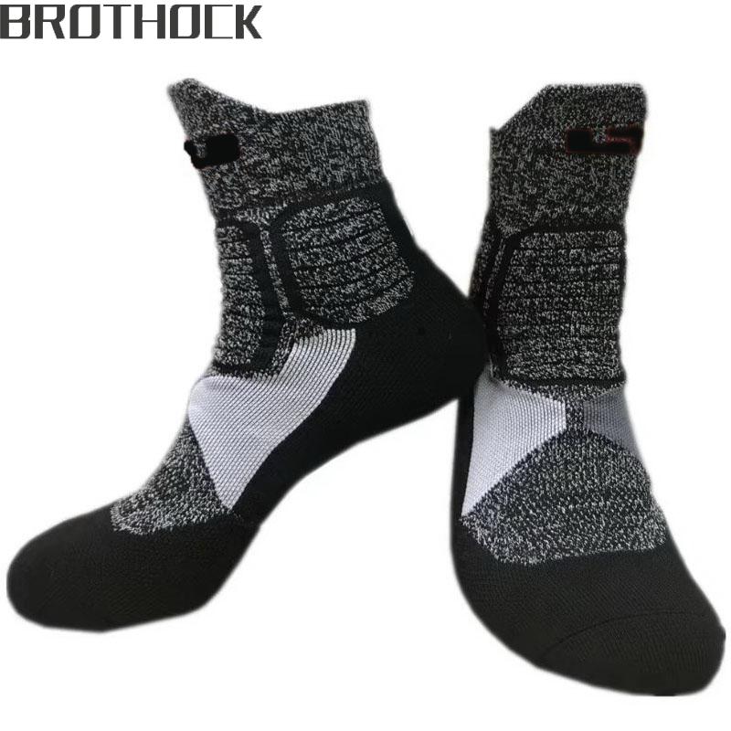 [해외]Brothock 제임스 한정판 엘리트 양말 전문 농구 양말 수건 양말 두꺼운 쿠션 튜브 남성 & s 스포츠 양말/Brothock James limited edition elite socks professional basketball socks towel