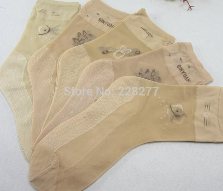 [해외]?40pcs = 20 쌍 / 많은 여자 패션 대나무 섬유 양말, 새로운 2014, 저렴 하 고 높은 qualtiy 레이디 & s 실크 sox, 여성/ 40pcs=20 pairs/lot  Womens Fashion bamboo fiber Socks,new