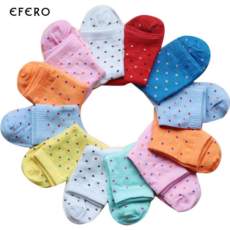 [해외]10 쌍 여성면 혼방 양말 여성 양말 따뜻한 예술 양말 긴 여성 숙녀 귀여운 점 인쇄 양말 로트/10 pairs Women Cotton Blends Sock Women&s Socks Warm Art Socks Long Female Ladies Girl Cute