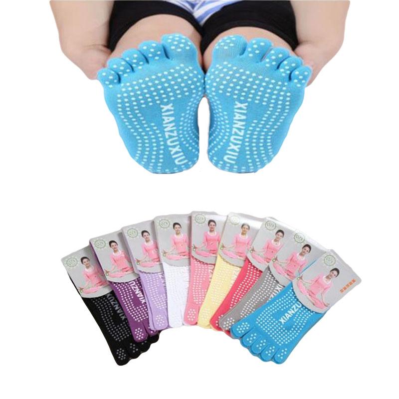 [해외]다채로운 통기성 탄성 땀 양말 분리 된 발가락 Socken Frauen 실리콘 귀여운 스텔스 다섯 손가락 양말 로트 10 쌍/Colorful Breathable Elastic Sweat SocksSeparate Toes Socken Frauen Silicone