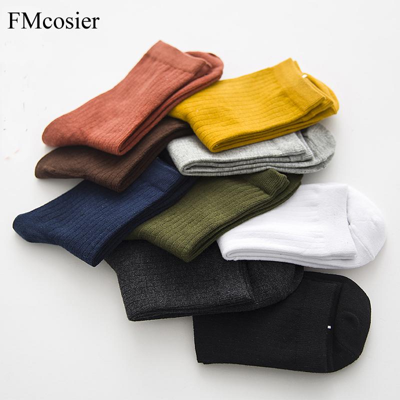[해외]9 쌍 여름 봄 해피 코 튼 색 양말 여자 Whort 숙 녀 양말 발목 여자 겨울 얇은 주머니 양말 Sox Socs Calcetines/9 Pairs Summer Spring Happy Cotton Color Socks Woman Whort Ladies Sock