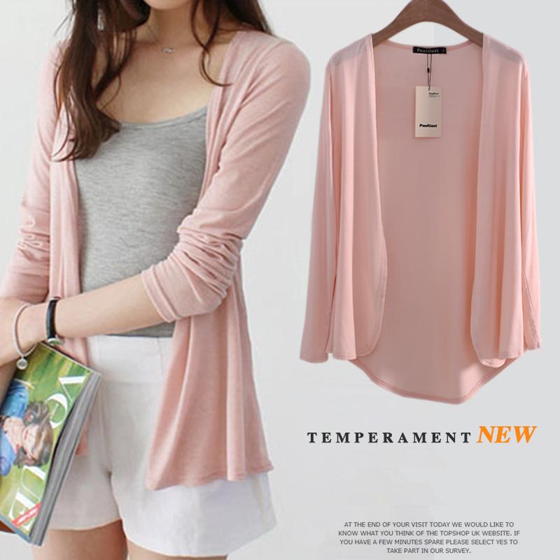 [해외]가을 여름 여성 단색 스웨터 여성 카디건 겉옷 짧은 스웨터 여성 스타일의 긴 Retail 카디건 코트 ZZS-00-32/Autumn Summer women solid color Sweater female cardigan outerwear short sweater