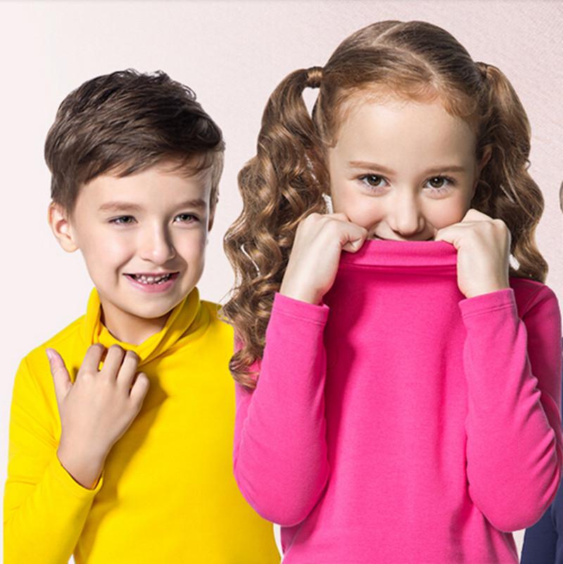 [해외]가을 겨울 터틀넥 아동 스웨터 10 단색 소녀 걸스 스웨터 소년 풀오버 셔츠 여아용 어린이 카디건 2-10T/Autumn Winter Turleneck Children Sweater 10 Solid Colors Girls Sweater Boys Pullover