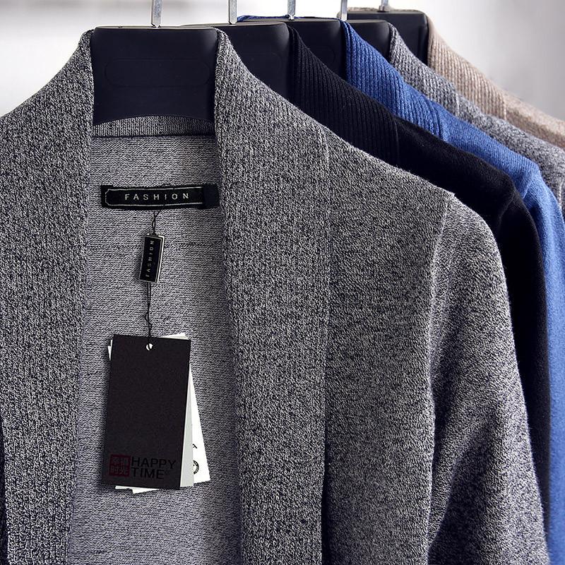 [해외]2017New 가을 겨울 스웨터 남자 긴 Retail 카디 건 스웨터 니트 남자 여러 가지 빛깔의 브랜드 의류 카디건 남자 플러스 크기 5XL/2017New Autumn Winter Sweater Man Long Sleeve Cardigan Sweater Kni