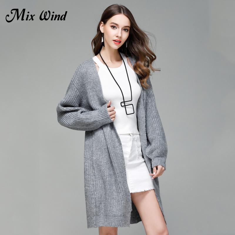 [해외]믹스 바람 여성 & s 니트 카디 건 2017 큰 새로운 여성 & s 긴 스웨터 코트 패션/Mix Wind Women&s Knitted Cardigan 2017 Large New Women&s Long Sweater Coat Fashion