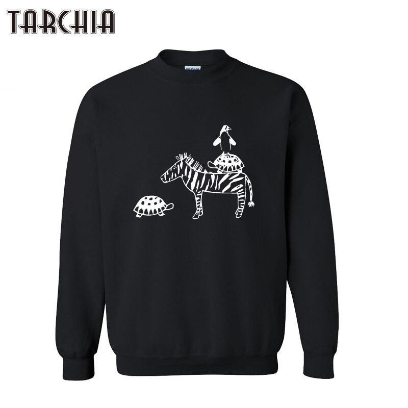 [해외]TARCHIA Autumn Men Hoodies Zebra Print Slim Casual Sweatshirt Long Sleeve Pullover Hoody Sportswear Fashion Male Clothing/TARCHIA Autumn Men Hoodi
