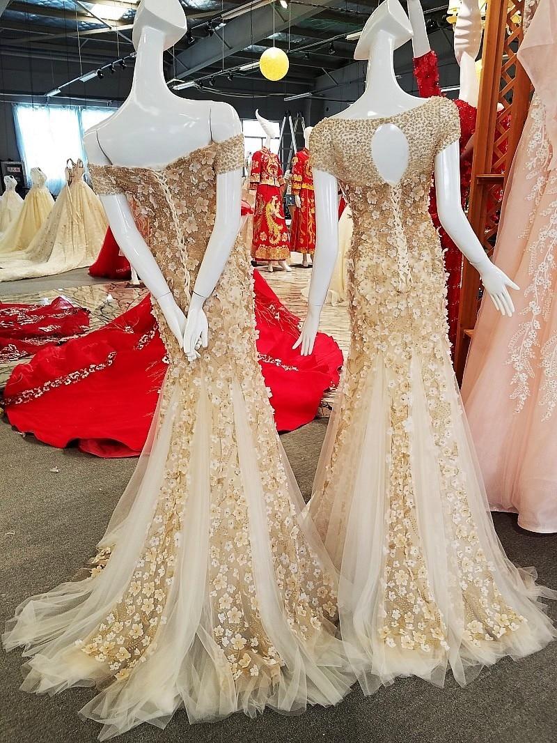 [해외]드레스 의상을 입고 우아한 드레스를 입고 저녁 드레스 2018 abendkleider 공식 드레스 abiye/Vestidos de fiesta largos elegantes de gala vestido longo de festa evening dress 2018
