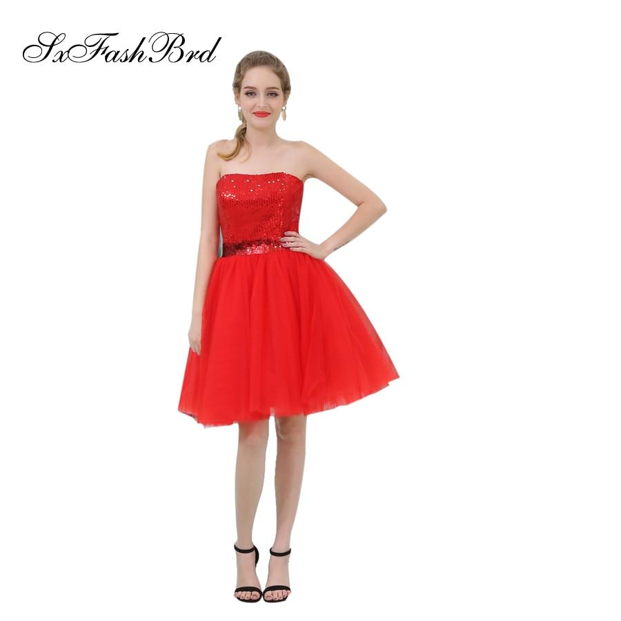 [해외]로브 Longue Strapless 라인 Tulle 여성용 미니 짧은 공식 우아한 드레스 저녁 파티 파티 드레스 Vestido De Festa/Robe Longue Strapless A Line Tulle Mini Short Formal Elegant Dress