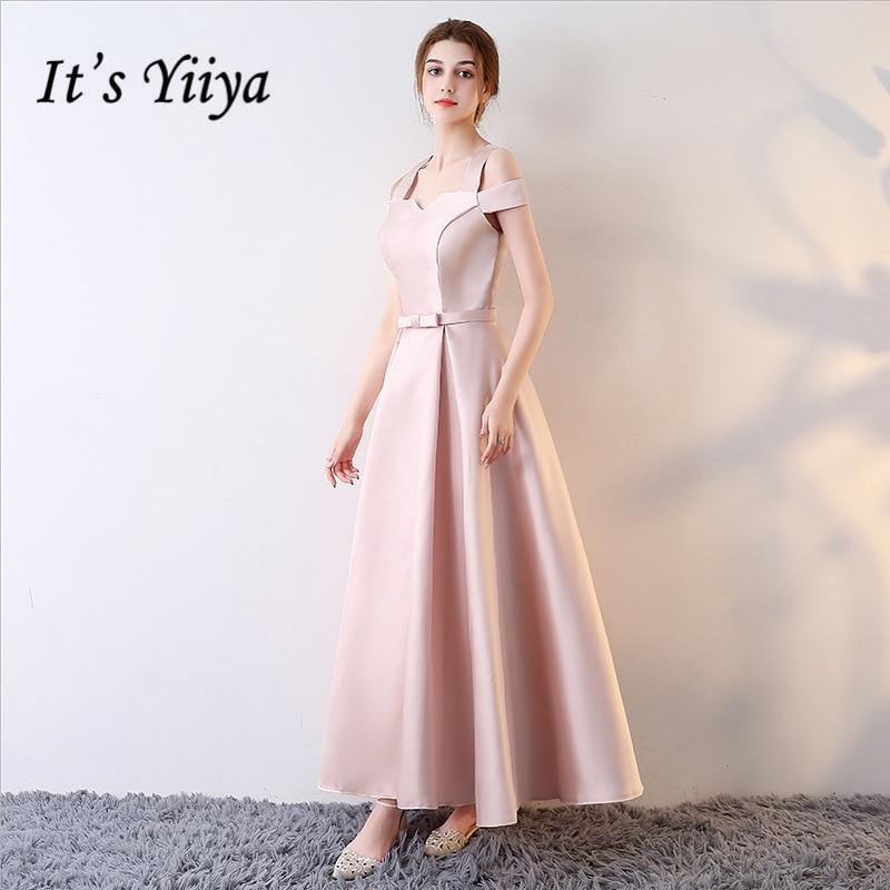 [해외]그것은 YiiYa 6 스타일 정장 드레스 브이 넥 민Retail 나비 우아한 신부 들러리 드레스 레이디 패션 디자이너 LX715 최대 럭셔리 레이스/It`s YiiYa 6 Styles Formal Dress V-Neck Sleeveless Bow Elegant