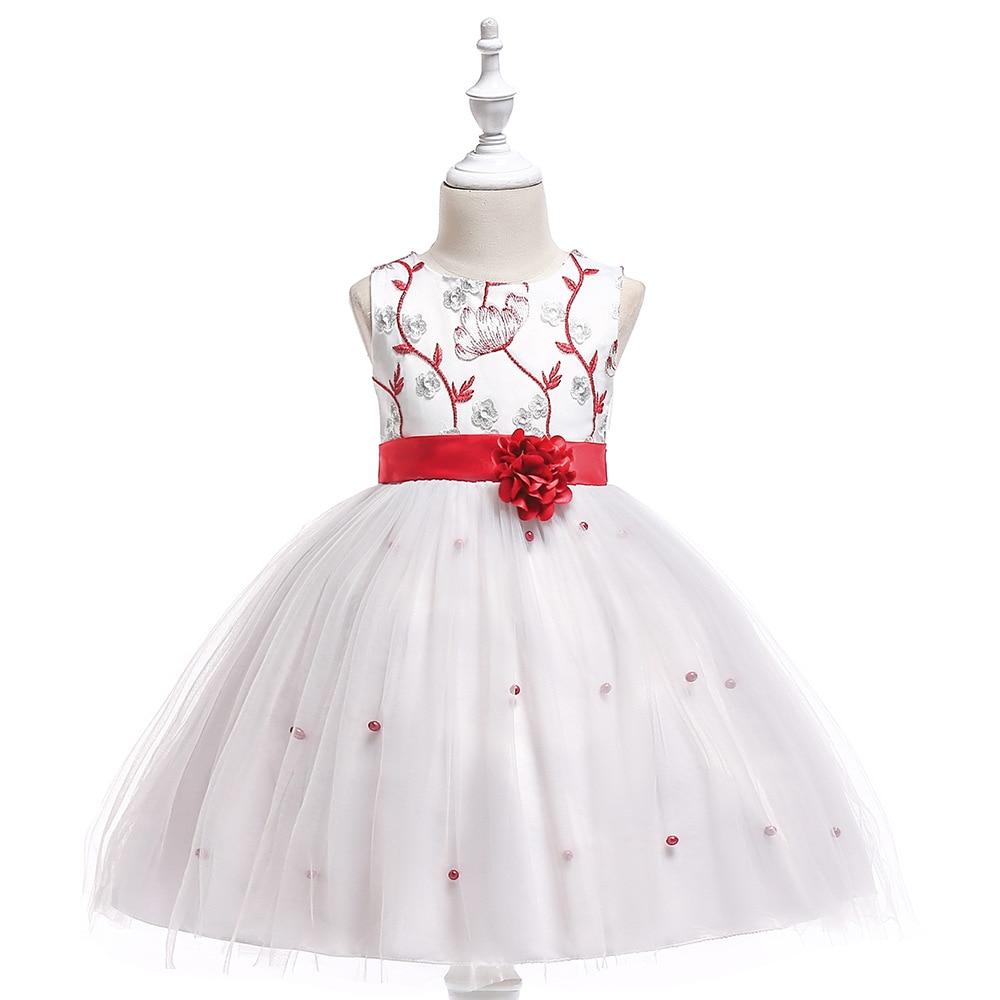 [해외]2018 결혼식을꽃 파는 소녀 드레스 어린 소녀를볼 가운 캡 슬리브 Tulle Bow Lace Long First Communion Dresses/2018 Flower Girl Dresses For Weddings Ball Gown Cap Sleeves Tull