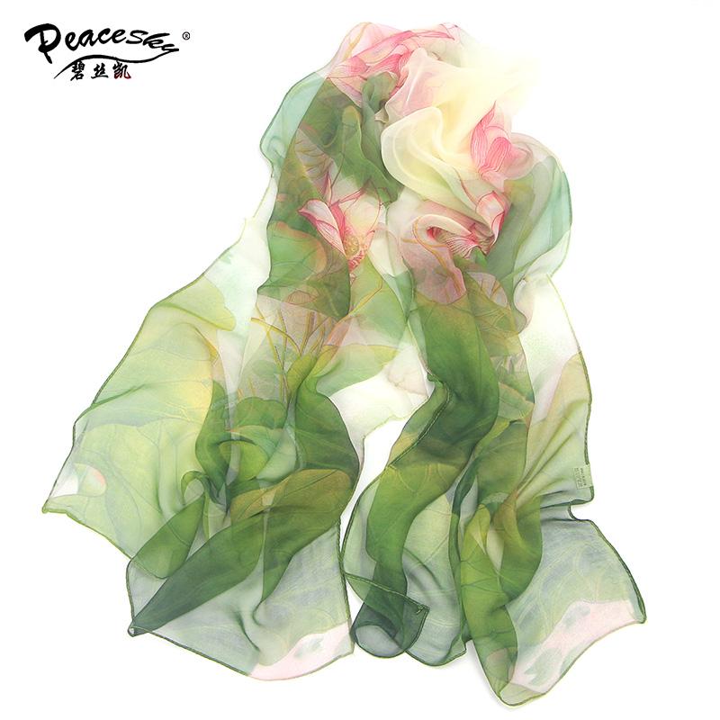 [해외]2017 Hot 멋진 꽃 긴 부드러운 scarfs 우아한 여성을목도리를 감싸는 한판 스카프 스카프 shawls/2017 hot wonderful flower long soft scarfs wrap shawl for elegant women han edition