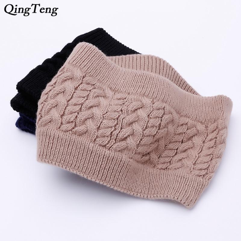 [해외]2018 유행 겨울 스카프 여자 남성 케이블 니트 링 짙은 양모 칼라 스카프 목 스카프 튜브 UniNeck 따뜻하게/2018 Fashion Winter Scarf For Women Men Cable Knit Ring Thickened Wool Collar Sca