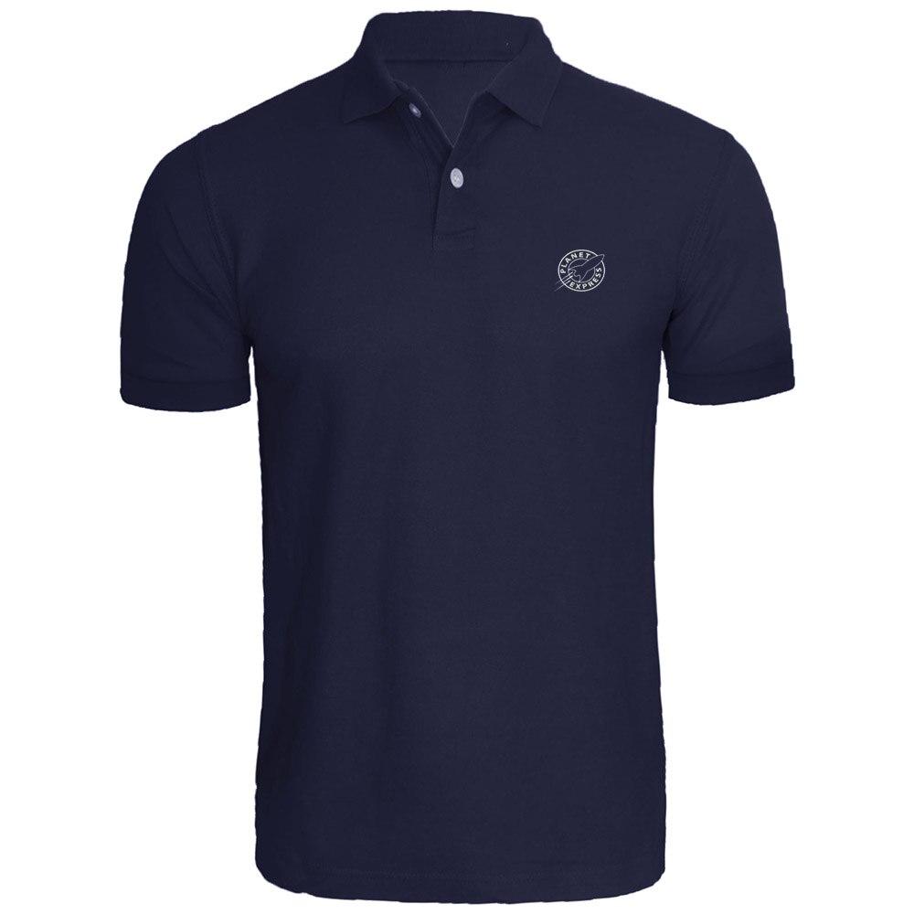 [해외]Mens PLANET EXPRESS - 후투 라마 수 놓은 폴로 셔츠/Mens PLANET EXPRESS - Futurama Embroidered Polo Shirts