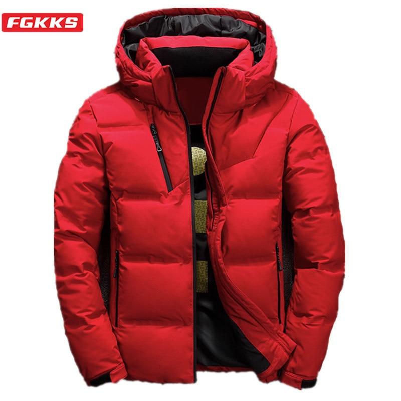 [해외]Fgkks 품질 브랜드 남성 다운 재킷 남성 슬림 두꺼운 따뜻한 솔리드 컬러 후드 다운 코트 패션 캐주얼 다운 재킷 남성/Fgkks 품질 브랜드 남성 다운 재킷 남성 슬림 두꺼운 따뜻한 솔리드 컬러 후드 다운 코트 패션 캐주얼 다운 재킷 남성