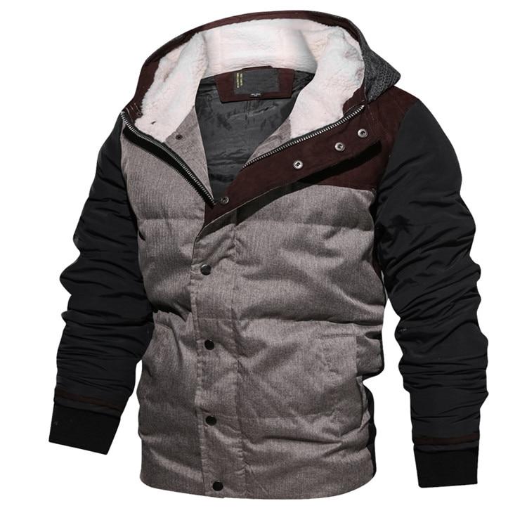 [해외]새로운 겨울 남성 자켓 따뜻한 파카 두꺼운 양털 코트 남성 면화 후드 코트 남성 브랜드 의류 eu 크기/새로운 겨울 남성 자켓 따뜻한 파카 두꺼운 양털 코트 남성 면화 후드 코트 남성 브랜드 의류 eu 크기