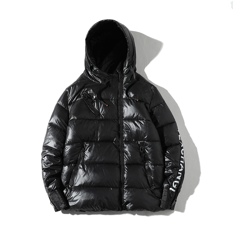 [해외]New personalized sleeve zipper mens winter parkas  leisure down cotton warm  winter coat men/New personalized sleeve zipper mens winter parkas  le