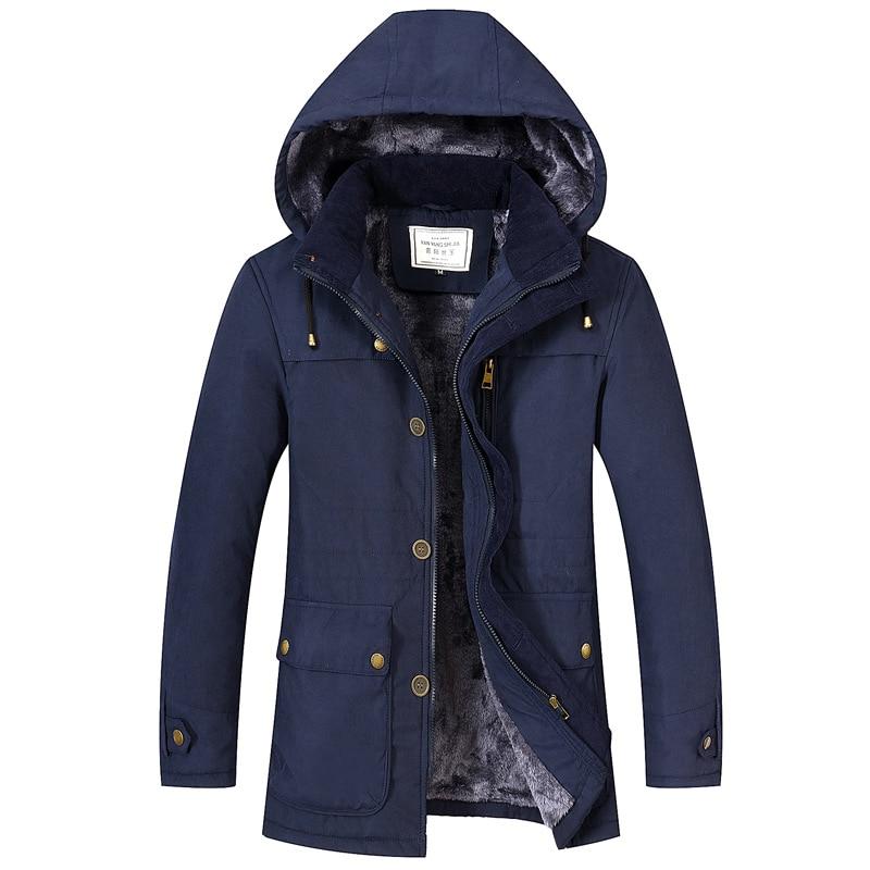 [해외]2019 New Hooded Thick Warm Jacket Men Winter/2019 New Hooded Thick Warm Jacket Men Winter