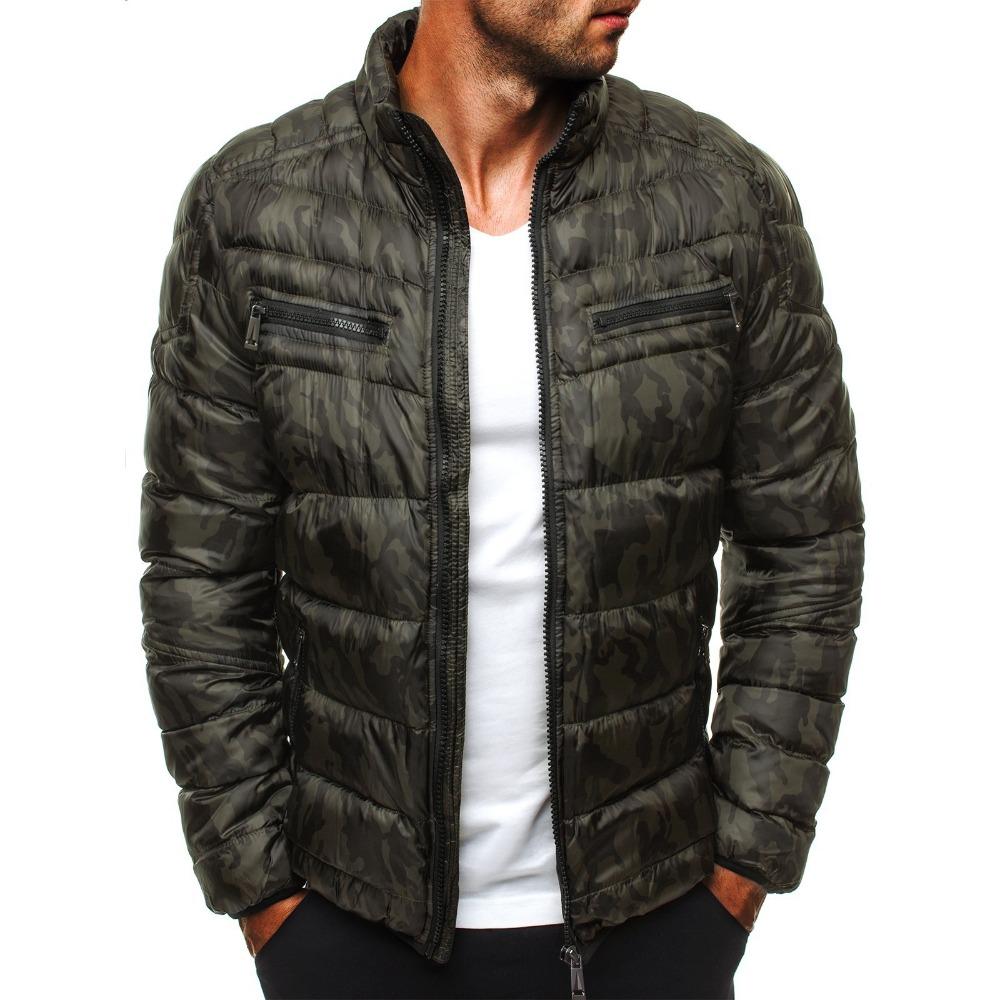 [해외]ZOGAA Winter Parkas Jackets Men 2019 Casual Mens Jackets and Coats Solid Parka Men Outwear Plus Size 3XL Jacket Male Clothing/ZOGAA Winter Parkas