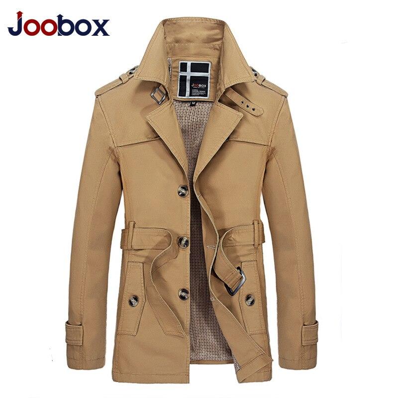 [해외]JOOBOX 브랜드 2017 가을 트렌치 얇은 긴 섹션 남성용 스포츠 용 재킷 자용 슬림 재킷 봄 패션 남성용 고품질 코트 외투/JOOBOX Brand 2017 autumn trench thin long section men`s windbreaker Slim j