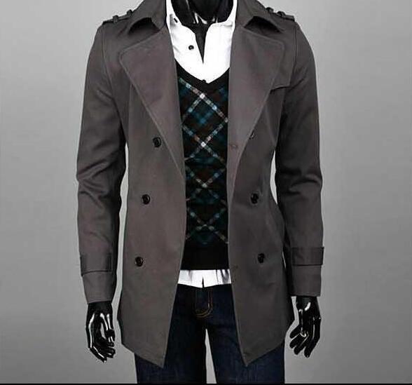 [해외]미친 승진 새로운 디자이너 날씬한 섹시한 트렌치 코트 남자는 긴 Retail 망 의류 비즈니스 겉옷 casaco masculino를 overcoat/Crazy promotion  new designer slim sexy trench coat men overcoa