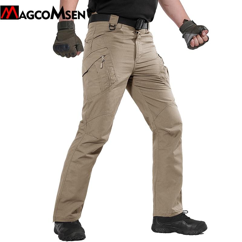 [해외]MAGCOMSEN Tactical Pants Men Summer IX9 Rip-stop Military Army Combat Pants Long Cotton Cargo Trousers Security Trousers JLTX-7/MAGCOMSEN Tactical
