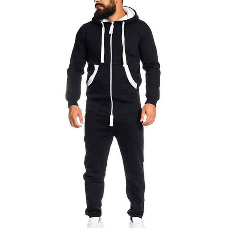 [해외]MJARTORIA 남자 점프 슈트 원피스 파자마 Playsuit 지퍼 후드 Onesie Camo 프린트 Jumpsuit Streetwear  Overalls/MJARTORIA 남자 점프 슈트 원피스 파자마 Playsuit 지퍼 후드 Onesie