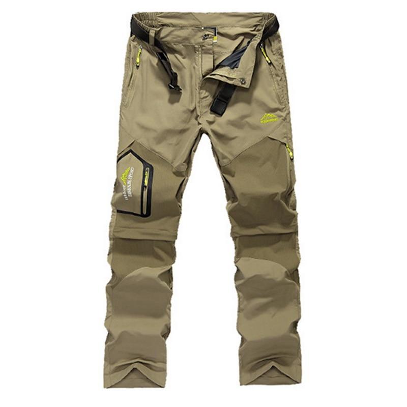 [해외]HEFLASHOR Men Stretch Waterproof Camping Hiking Pants Outdoor Sport Trousers Trekking Mountain Climbing Fishing Plue Size 6XL/HEFLASHOR