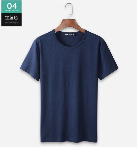 [해외]XXL 3XL 4XL Code ESXX facebook Mens Ice Silk Half-sleeve Pure Black-and-White Bottom Shirt  Clothes/XXL 3XL 4XL Code ESXX facebook Mens