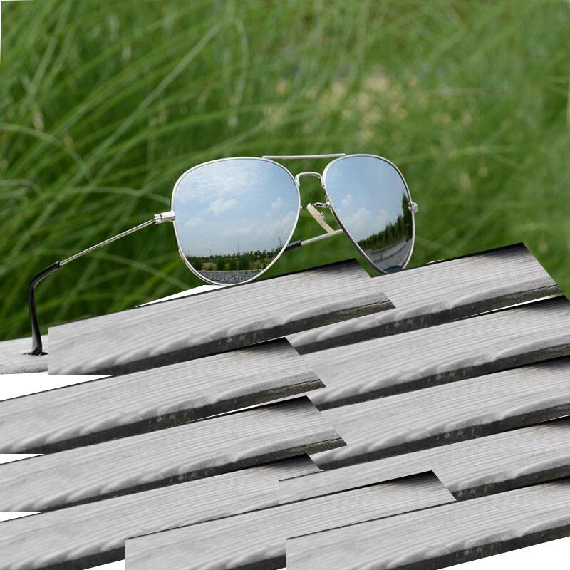 [해외]Raggaeon 클래식 패션 유리 선글라스 여성 최고 품질 uv400 레트로 남자 선글라스 미러 oculos 드 졸 패션 uv400/Raggaeon classic fashion glass lens sunglasses women`s top quality uv400