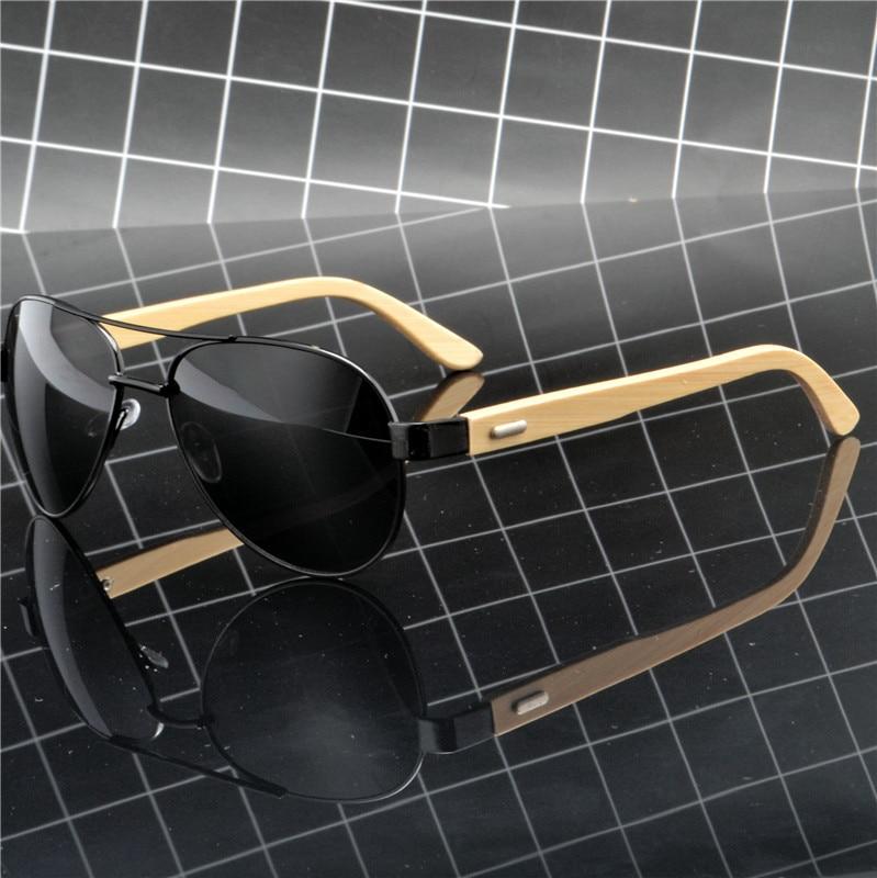 [해외]MINCL Fashion male polarized bamboo sunglasses brand designer classic luxury high quality men`s driving goggles UV400 NX/MINCL Fashion male polari