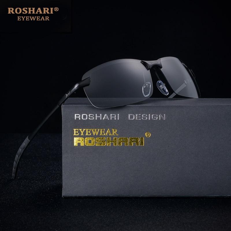 [해외]RoShari Chameleon Sunglasses men photochromic All-weather Discoloration Professional driving Sun glasses men lunette de soleil/RoShari Chameleon S