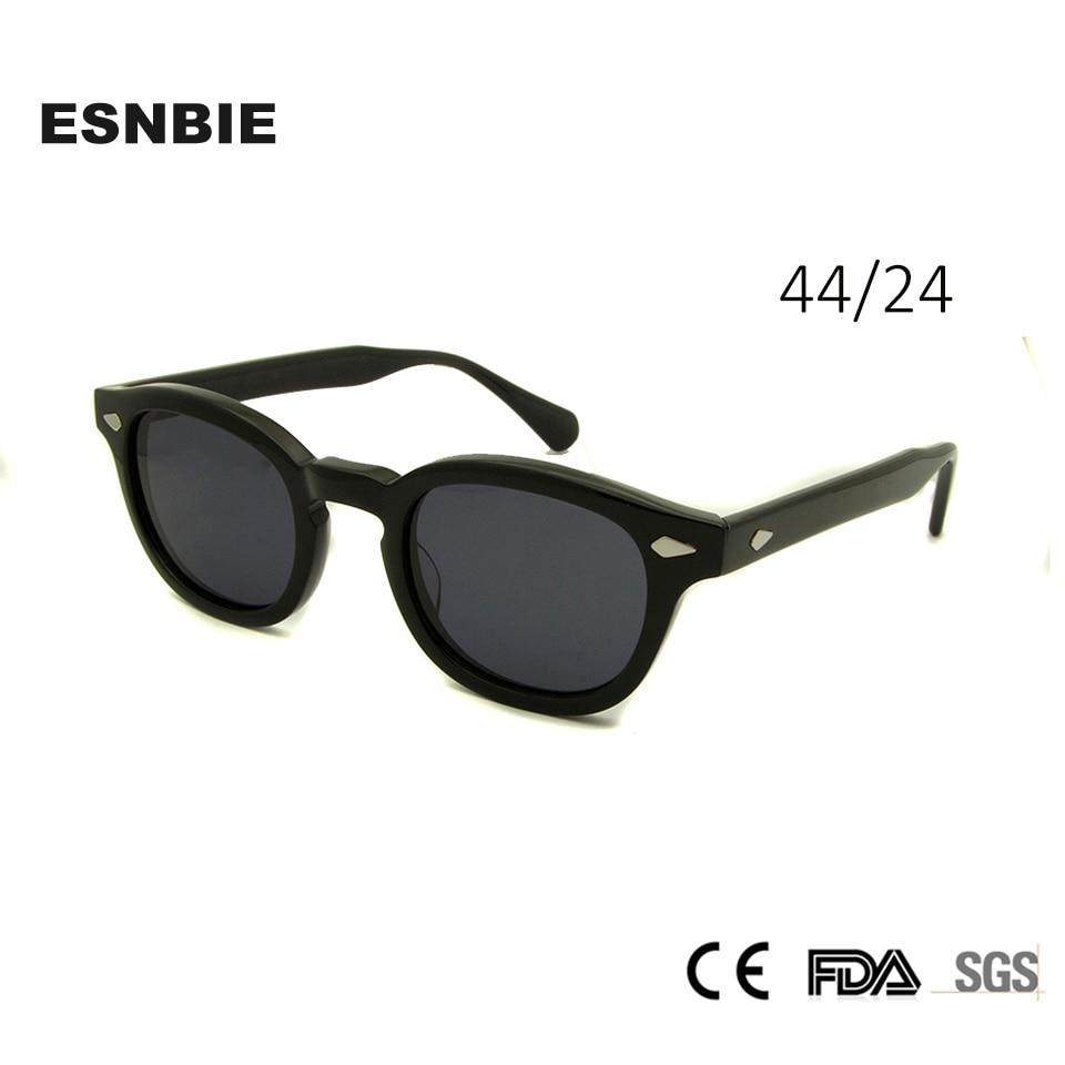 [해외] Acetate Glasses Sunglasses Men Round Small Retro Rivet Sunglasses Women Sun Glasses Uv400 Occhiali Da Sole Donna/ Acetate Glasses Sunglasses Men