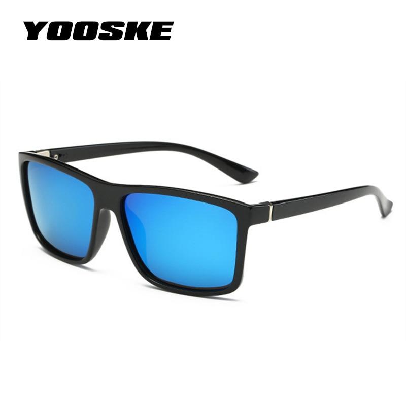 [해외]YOOSKE Brand Mens Polarized Sunglasses Special Driving Driver Sun glasses Women Vintage Rectangle Anti-Glare Goggles Eyewear /YOOSKE Brand Mens Po