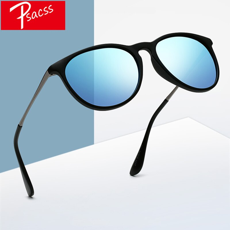 [해외]Psacss NEW Classic Round Polarized Sunglasses Men Women Vintage  Brand Designer Male Fashion Retro Sun Glasses UV400/Psacss NEW Classic Round Pola