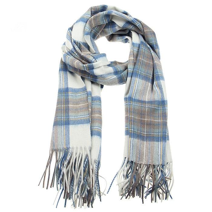 [해외]/100%lambswool new fashion boutique color small plaid scarfs shawl pashmina for uni70x200cm wholesale retail