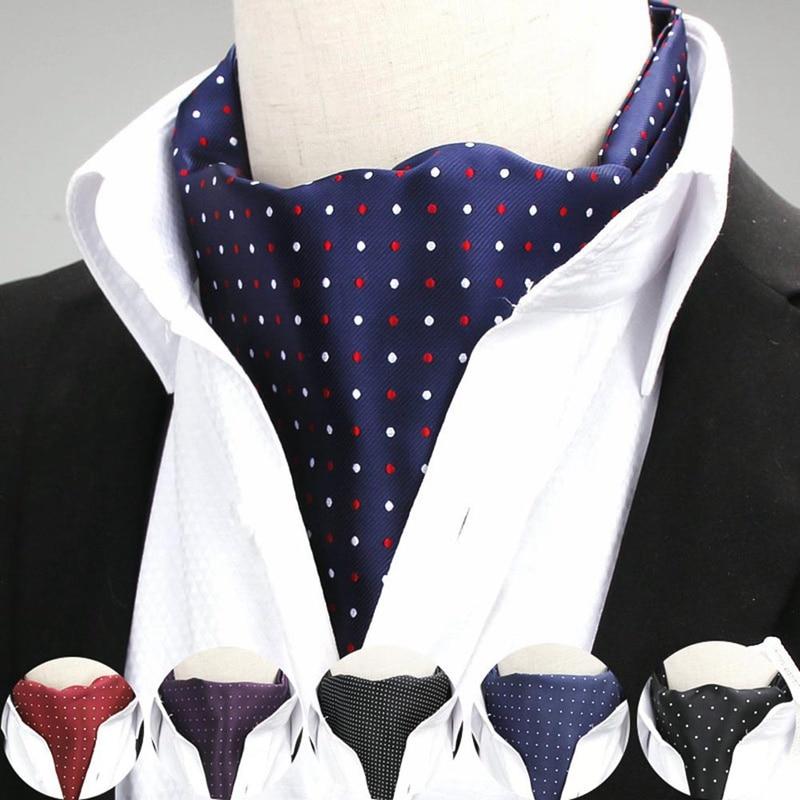 [해외]Bandana Adult Scarf Men Dots Silk Business Print Male Cravat Polka Dot Suit Shirt Acessories/Bandana Adult Scarf Men Dots Silk Business Print Male