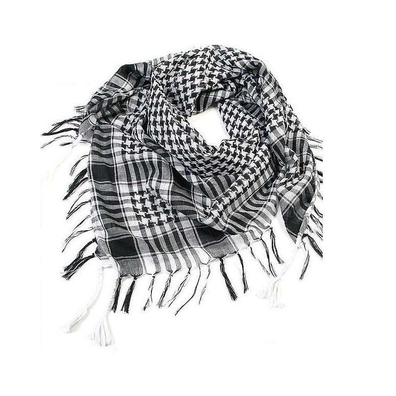 [해외]Scarves Men Winter Military Windproof Scarf Cotton Muslim Hijab Shemagh Tactical Desert Arabic Scarf Shawl Neck Cover Wraps/Scarves Men Winter Mil