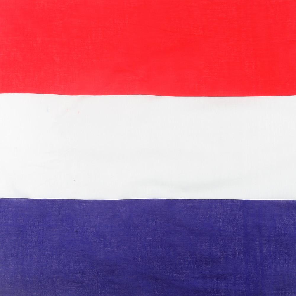 [해외]WINFOX 2018 New Hip Hop Cotton  Red White Bule   Netherlands Flag Bandana For Mens Womens /WINFOX 2018 New Hip Hop Cotton  Red White Bule   Nether