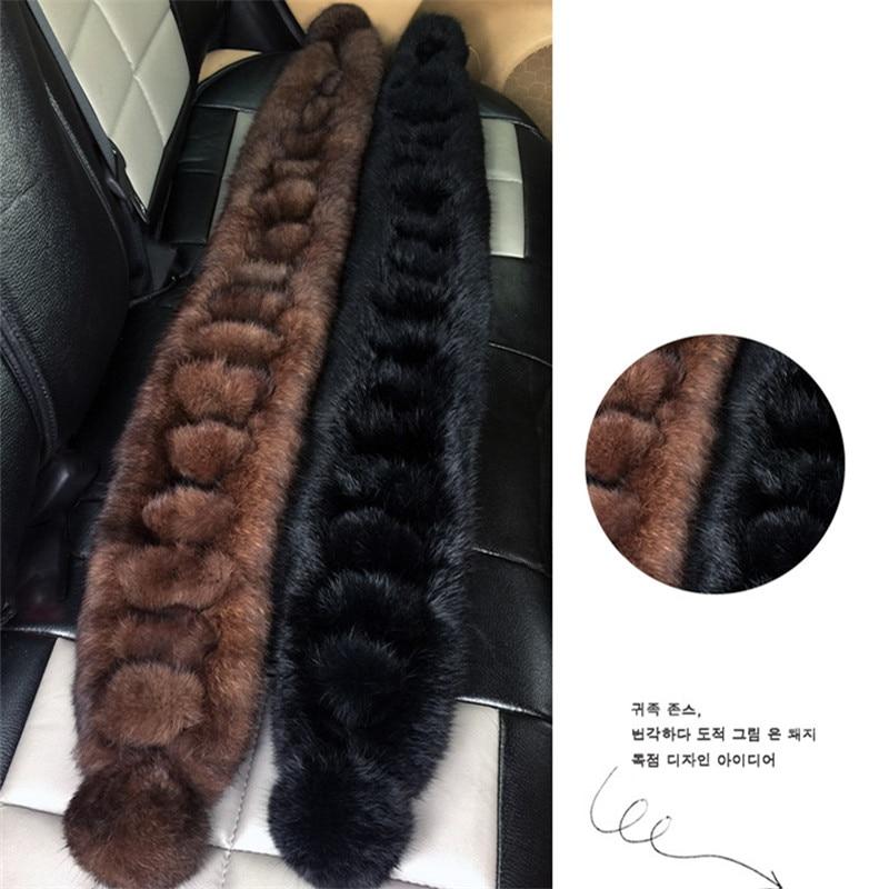 [해외]New 2018 Women/Men Warm Genuine Real Rabbit Fur Scarf Ladies Lovely Winter Wraps /New 2018 Women/Men Warm Genuine Real Rabbit Fur Scarf Ladies Lov