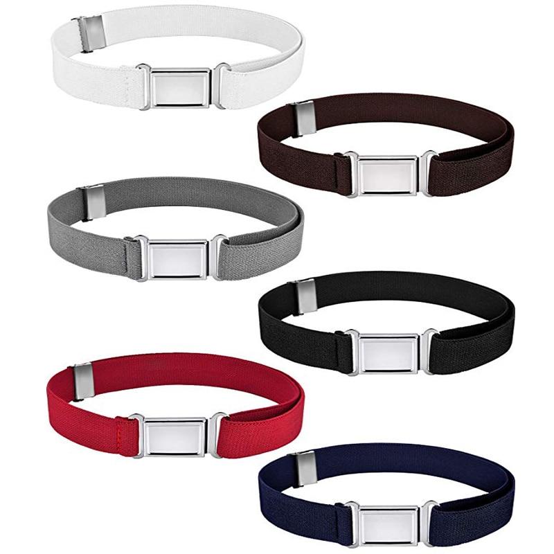 [해외]Canvas Belt For Boys Kids Fashion Alloy Buckle Belt for Men Adjustable Elastic Childrens Belts 11 Colors 77*2.5cm/Canvas Belt For Boys K