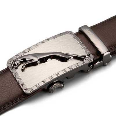 [해외]  Designer Brown  Belts 2019 Fashion  Genuine Leather Belt  Brand Automatic Buckle Strap Men black Metal belt/  Designer Brown  Belts 20