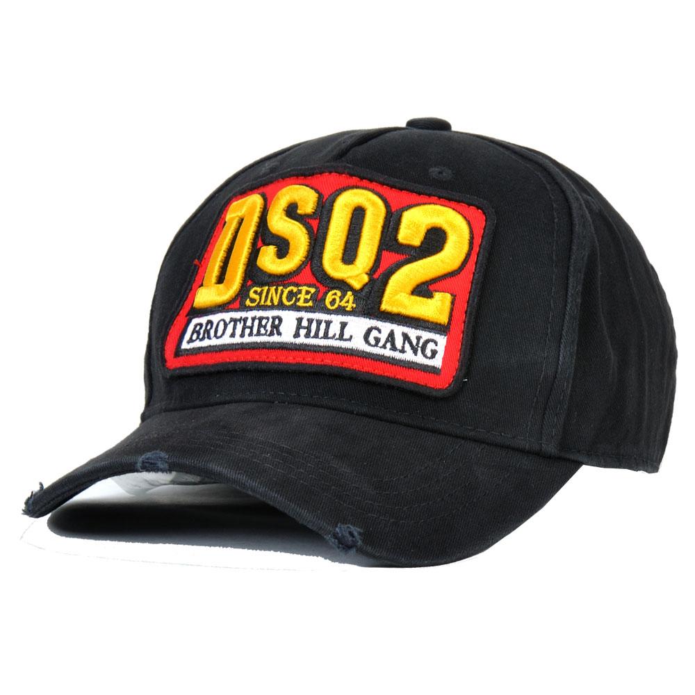 [해외]/DSQICOND2 Cotton Baseball Caps DSQ Letters Brand  Cap Men Women Customer Design DSQ Logo Hat Black Cap Dad Hats