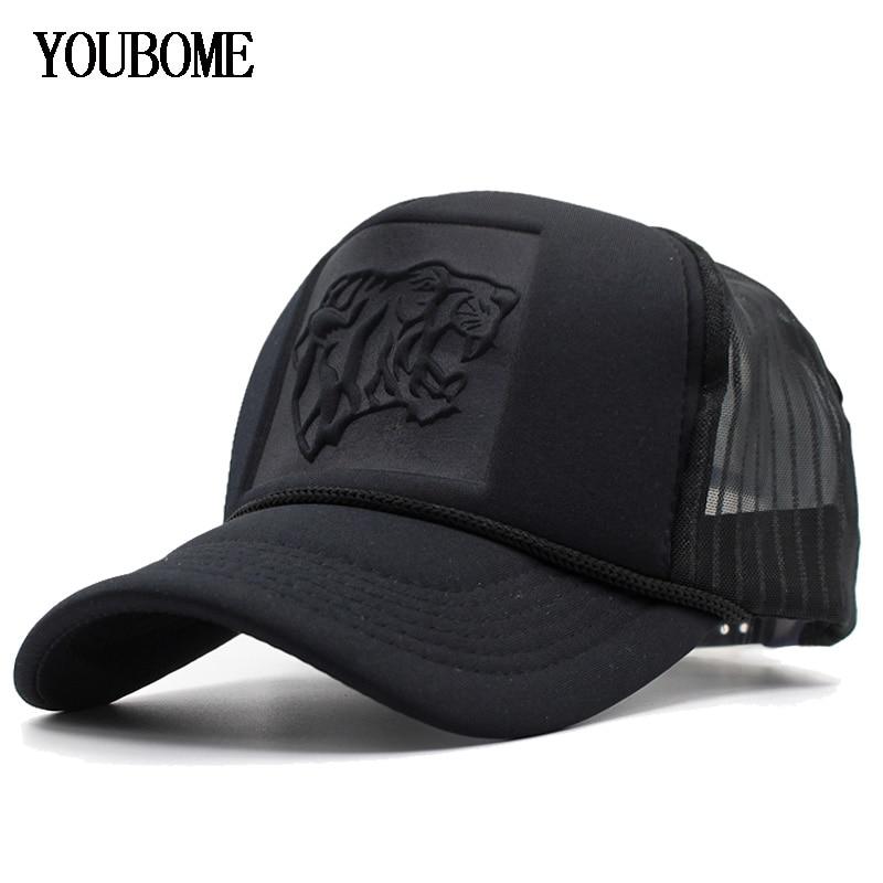 [해외]YOUBOME Baseball Cap Women Brand Black Snapback Caps Men Hats For Men Mesh Summer Hip hop Casquette Bone Summer MaLe Dad Cap Hat/YOUBOME Baseball