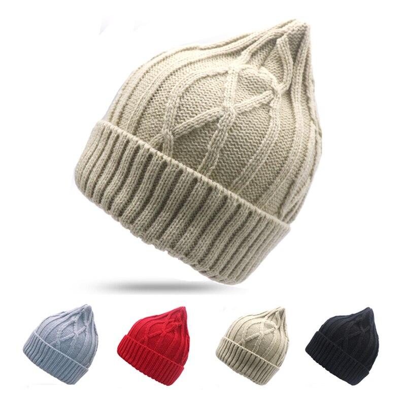 [해외]여자 모자 겨울 패션 따뜻한 니트 모자 한국 스타일 Skullies 남자 모자 비욘세 Gorros Mujer Invierno 힙합 모자 여성/Woman Cap Winter Fashion Warm Knitted Hat Korean Style Skullies Bea