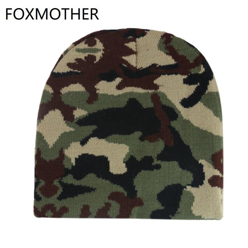 [해외]Foxmother 새로운 겨울 야외 따뜻한 니트 육군 녹색 위장 비니 모자 망 보닛 gorro/Foxmother 새로운 겨울 야외 따뜻한 니트 육군 녹색 위장 비니 모자 망 보닛 gorro